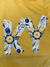 Load image into Gallery viewer, Floral Print KY Applique Tee