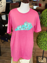 Load image into Gallery viewer, Flamingo Kentucky Applique Tee