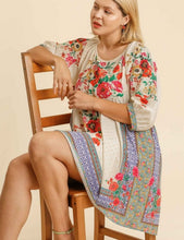Load image into Gallery viewer, Becca Mixed Print Babydoll Dress