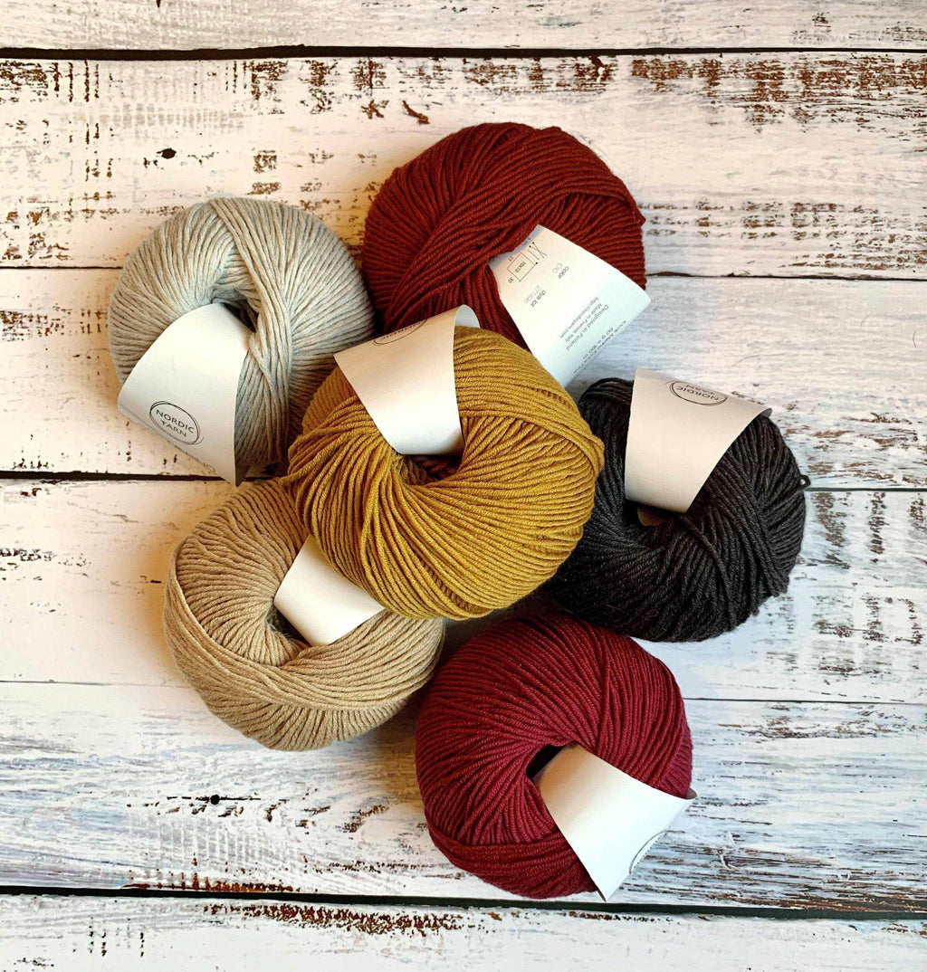6 Pack of Fine Merino - Nordic Yarn