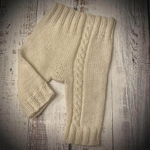 Neve Baby Pants Pattern - Nordic Yarn