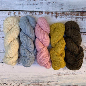 5 Pack of Eco Cashmere, Mixed Colors - Nordic Yarn