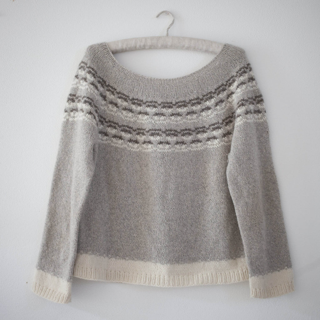 Vanamo Jumper Pattern - Nordic Yarn