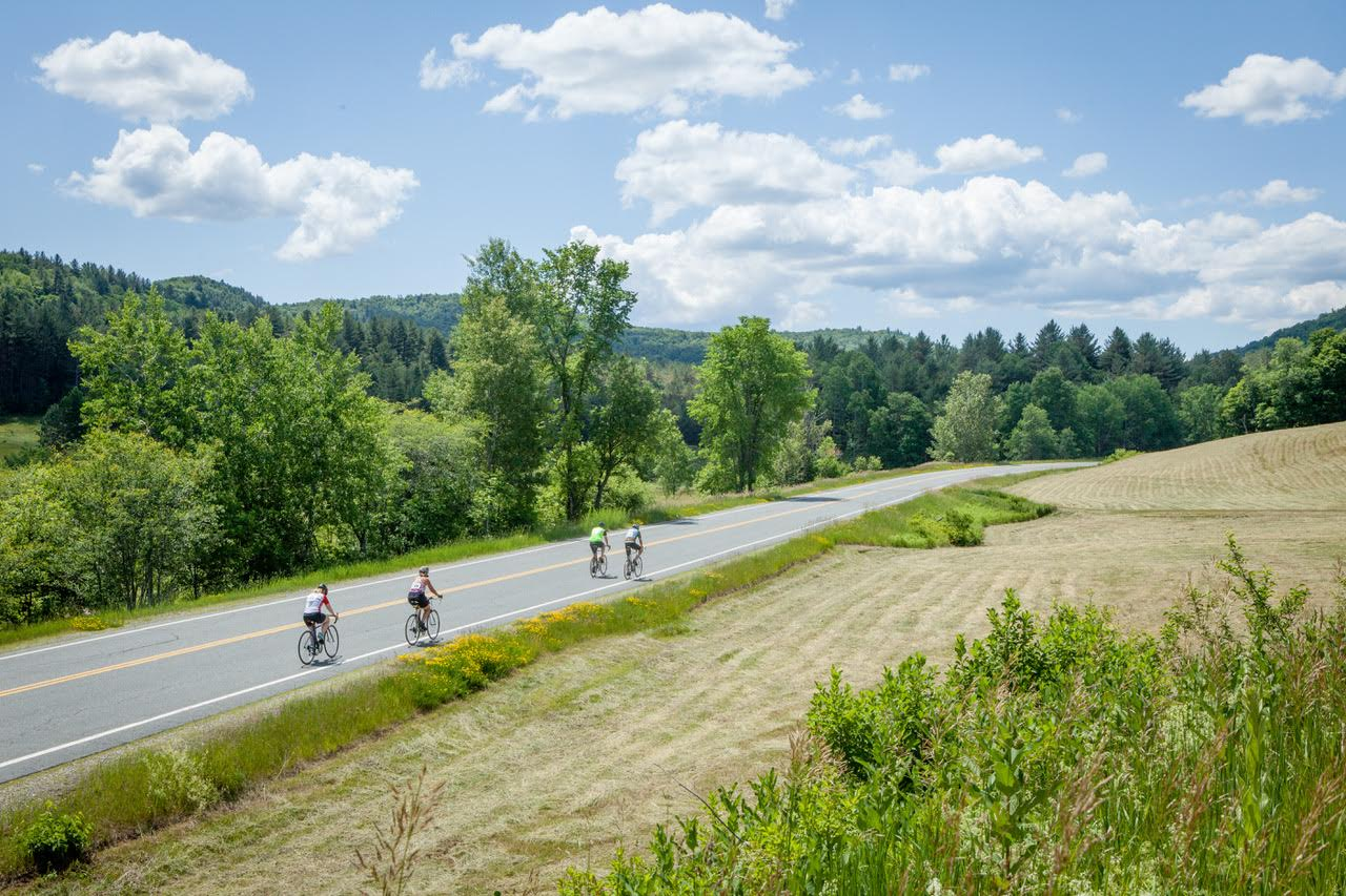 Vermont Adaptive Charity Ride Route 100 A