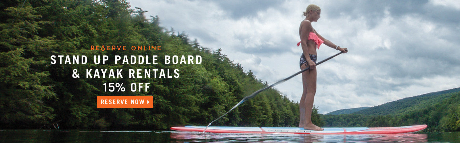 Stand Up Paddle Board & Kayak Rentals