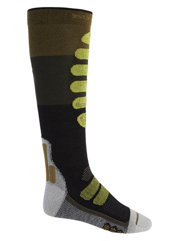 Burton Men's Performance Lightweight Sock- Martini Olive 2021