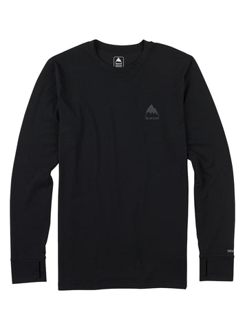 Burton Mens MDWT CREW TRUE BLACK 2018