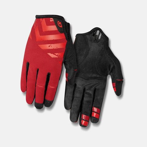 Giro DND Full Finger Dark Red