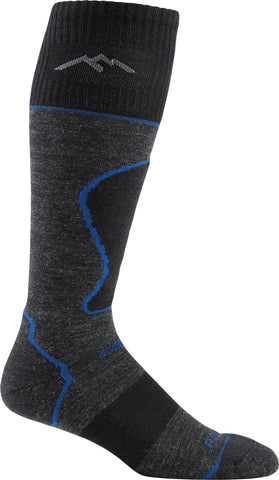 Darn Tough 1408 Padded Light OTC Sock Black