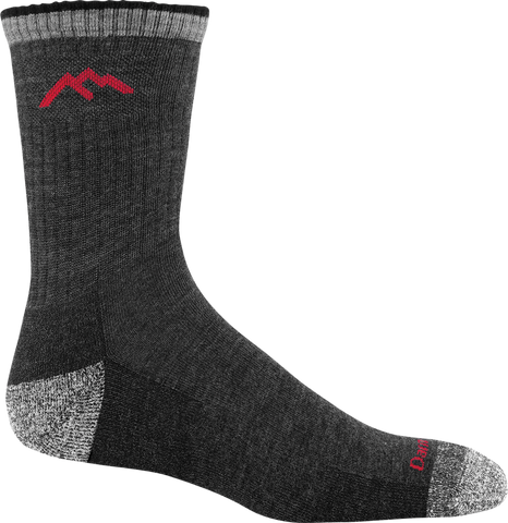 Darn Tough 1466 Micro Crew Cushion Black Sock
