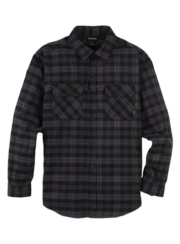 Burton M BRIGHTON PERF FLANNEL IRON PLAID 2020