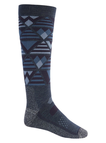 Burton Men's Performance Midweight Sock - Dark Slate Heather 2021