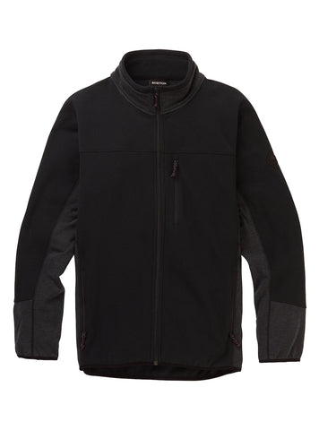 Burton M MINTURN FZ TRUE BLACK HEATHER 2020