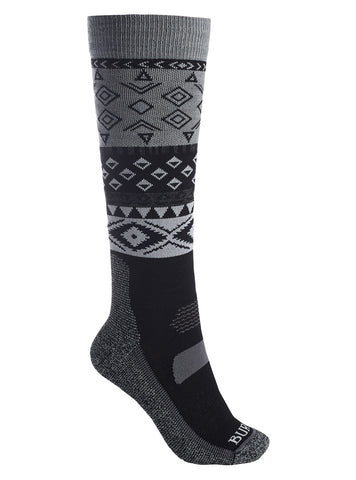 Burton W PRFRMNC LTW SOCK TRUE BLACK 2020