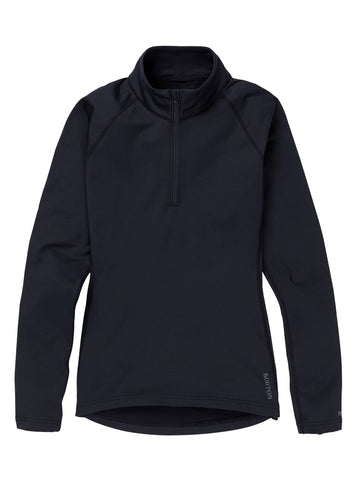 Burton Women's Heavyweight X 1/4 Zip - Black 2021