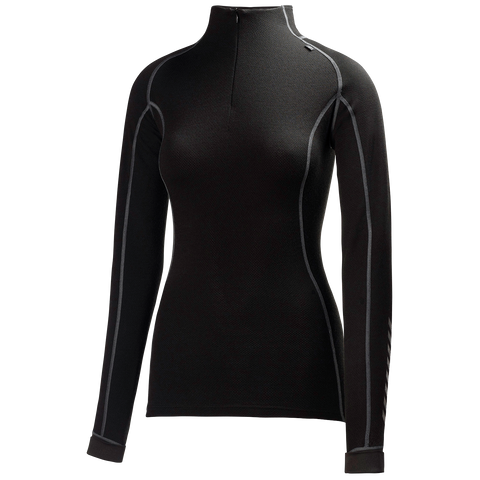 Helly Hansen Women's Warm Freeze 1/2 Zip Black