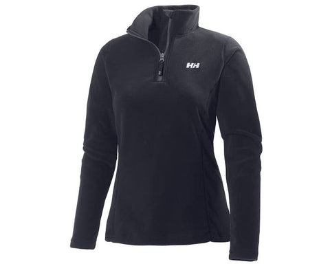 Helly Hansen W Daybreaker 1/2 Zip Fleece Black