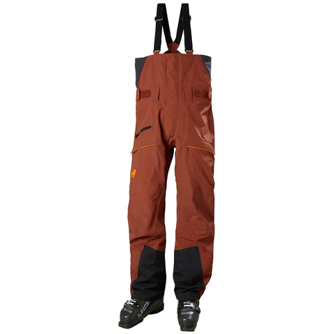 Helley Hansen Sogn Bib Shell Pant Redwood