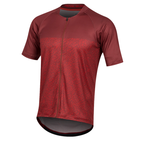 Pearl Izumi Canyon Jersey  RUSSET/TORCH RED STATIC