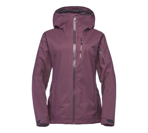 Black Diamond Boundary Line Mapped Insulated Jacket - Women's