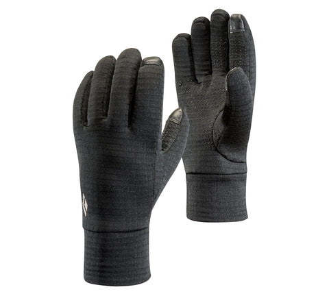 Black Diamond MidWeight GridTech Fleece Gloves 2019