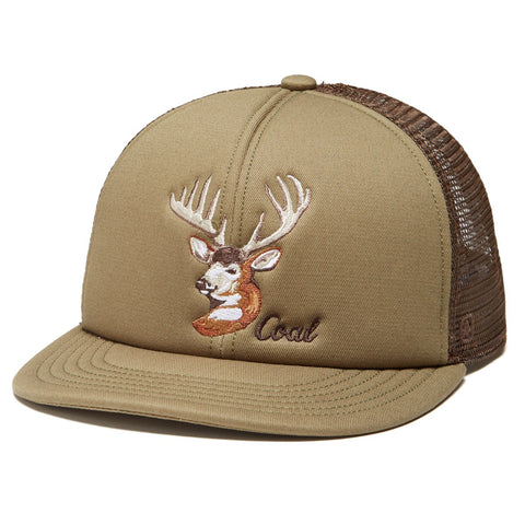 Coal The Wilds Curved Brim Cap Buck