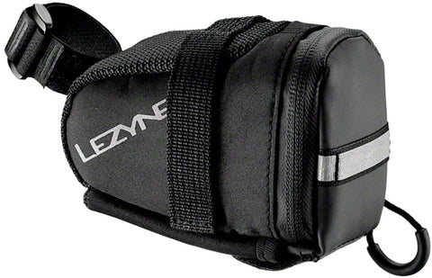Lezyne EX-Caddy Seat Bag: Black/Black
