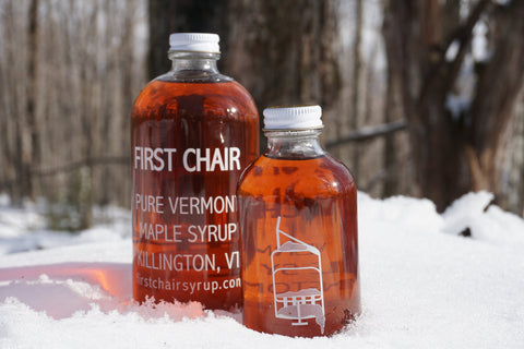 First Chair Maple Syrup Grade A Amber 32 oz