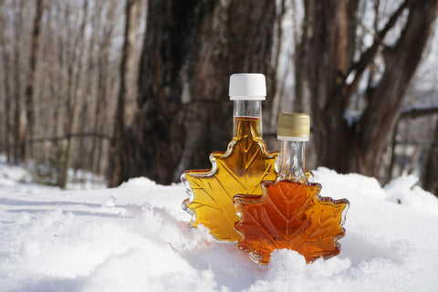 First Chair Maple Syrup Maple Leaf Bottle 1.7 oz