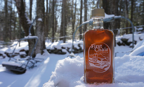 First Chair Maple Syrup Grade A Amber 8.4 oz Bourbon Barrel Aged