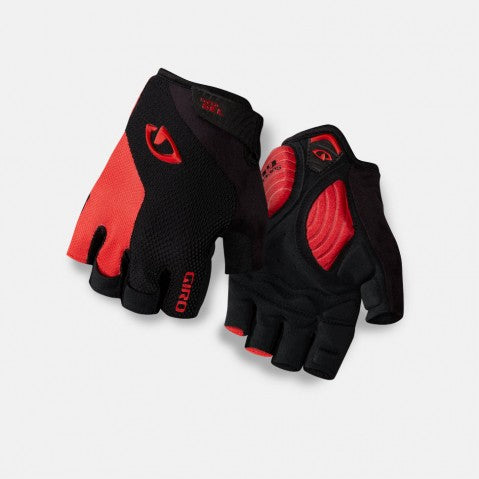 GIRO STRADEDURE SGEL GLOVE BLK/BRT RED