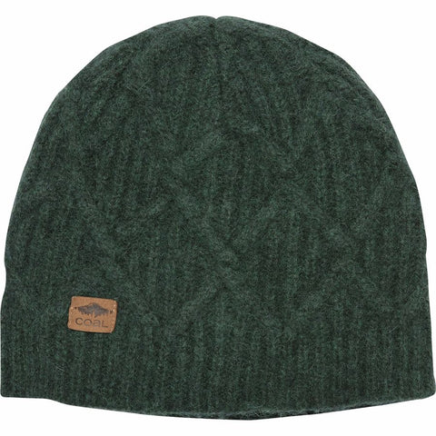 Coal The Yukon Cable Knit Wool Beanie
