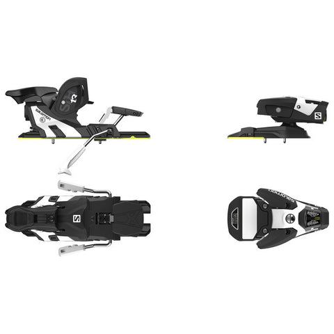Salomon STH2 WTR 13 Black/White Alpine Bindings 2018