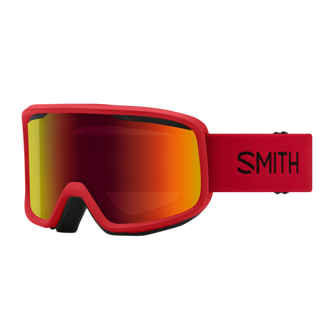 Smith Frontier Lava RED SOL-X MIRROR
