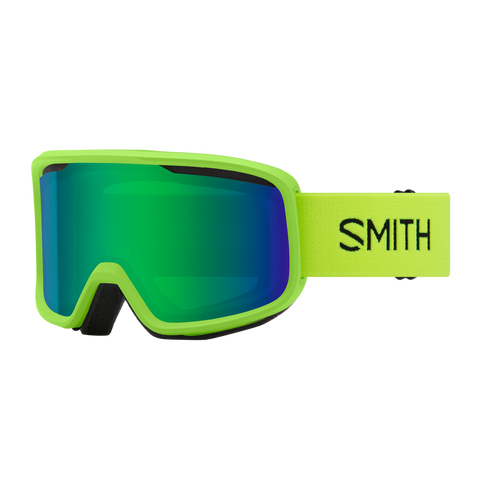 Smith Frontier Limelight GREEN SOL-X MIRROR