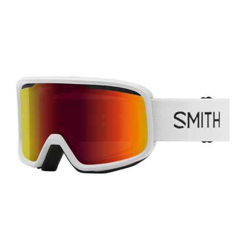Smith Frontier White RED SOL-X MIRROR