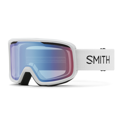 Smith Frontier White BLUE SENSOR MIRROR