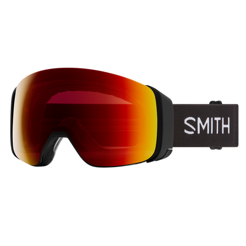 Smith 4D MAG ASIA FIT Black CHROMAPOP SUN RED MIRROR