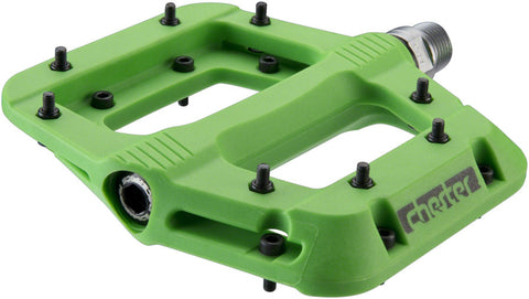 "RaceFace Chester Pedals - Platform, Composite, 9/16"", Green"