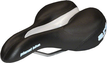Planet Bike A.R.S. Standard Saddle - Steel, Black, Women's