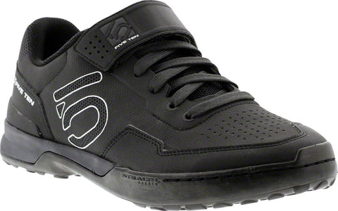 Five Ten Kestrel Lace Men's Clipless Shoe: Black Carbon