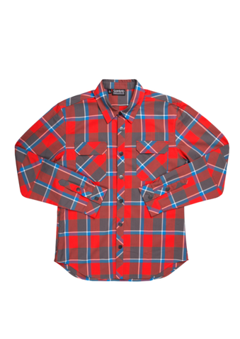 Sombrio Vagabond Riding Shirt M Red
