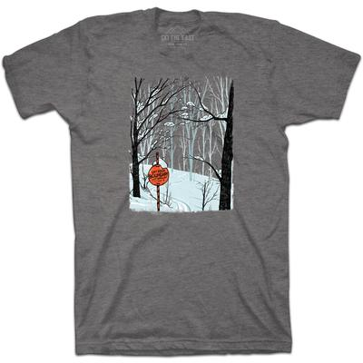 Ski The East Going O.B. Tee - Gray