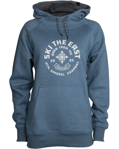 Ski The East Women's Icon Pullover Hoodie - Teal