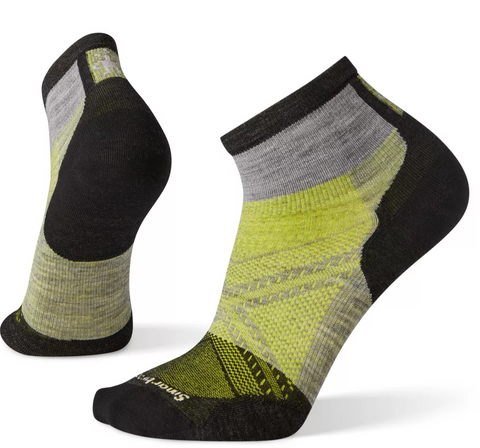 Smartwool PhD Cycle Ultra Light Ankle Socks - Gray