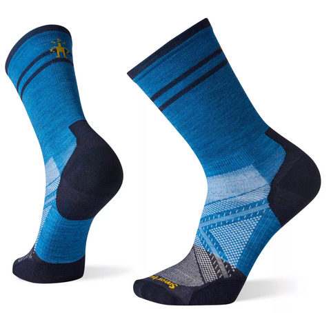 Smartwool PhD Cycle Ultra Light Crew - Blue
