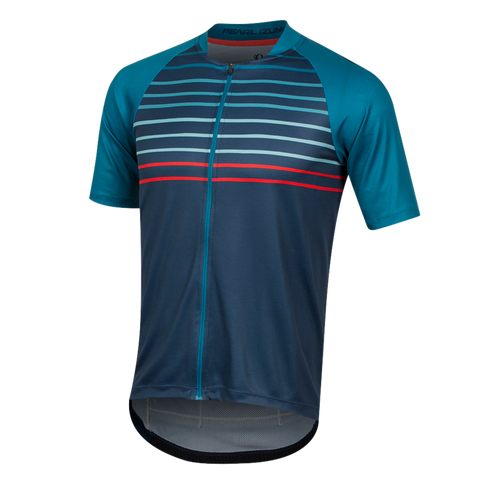 Pearl Izumi Canyon Graphic Jersey  TEAL/NAVY SLOPE