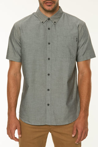O'Neill Banks Short Sleeve Shirt Black