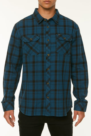O'Neill Carpenter Long Sleeve Shirt Dark Blue