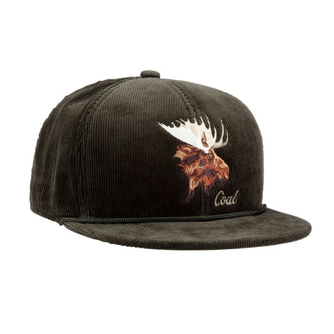 Coal The Wilderness Corduroy Cap Moose